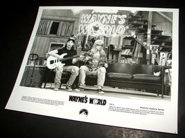 1992 WAYNE'S WORLD Movie 8x10 Press Photo Mike Myers Dana Carvey Wayne & Garth - $12.86