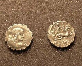 (RR-18) Denarius of Creperius  COPY Bonanza