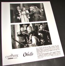 1995 O Parker Movie Othello 8x10 Press Photo Laurence Fishburne Kenneth Branagh - $10.99