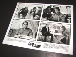 2001 Tony Scott Movie SPY GAME Press Photo BRAD PITT Robert Redford 5555-1 - $10.79