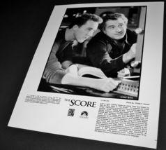 2001 Movie The Score Press 8x10 Photo Edward Norton Robert De Niro C1165 24 A - $10.99