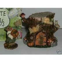 """BoydsRoute 33 1/3 Villages """"Autumn's Hollow Hideaway"""" 1E- Style19914-New-Retired - $29.99"""
