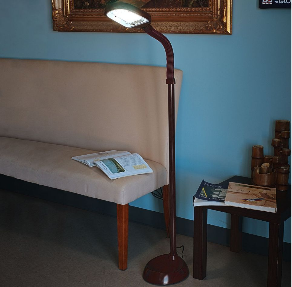 sunlight floor lamp bright adjustable flexible home office reading. Black Bedroom Furniture Sets. Home Design Ideas