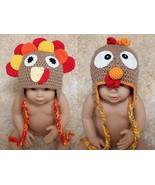 New Cotton Handmade Turkey Baby Knit Crochet Ha... - $8.79 - $10.69
