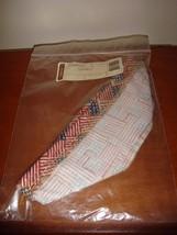 Longaberger Saffron Booking Basket Liner Old Glory - $12.89