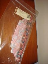 Longaberger Tarragon Booking Basket Liner Old Glory - $12.49