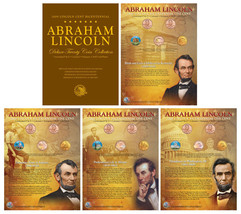 "ABRAHAM LINCOLN 2009 24KT GOLD 1 CENT BICENTENNIAL PENNIES ""20"" COIN SET... - $29.39"