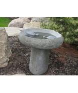 Stone Age Creations BB-TU-5 Turtle Granite Boulder Birdbath Natural Ston... - $511.84