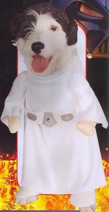 PRINCESS LEIA EXTRA LARGE PET COSTUME