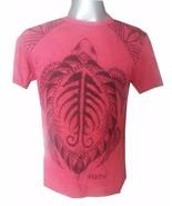 Men Shirt short sleeve cotton Yoga Turtle Tortoise Sea Ocean Earth Love ... - $18.80