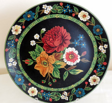 "Vera Bradley 12"" Multi-Colored Floral Decorative Plate My Home Andrea by... - $24.74"