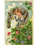 Happy New Year 1907 Post Card - $6.00