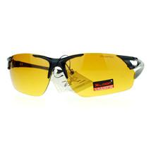 HD High Definition Lens Sunglasses Rimless Rectangular Sports Frame UV 400 - $8.95