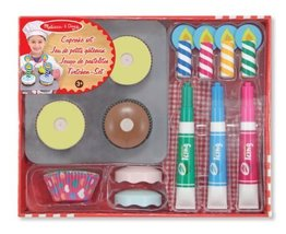 Melissa & Doug Bake & Decorate Cupcake Set - $18.76