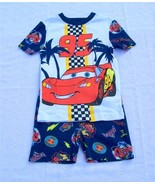 NWT Disney Store Cars McQueen Short Pajamas Boy... - $14.99