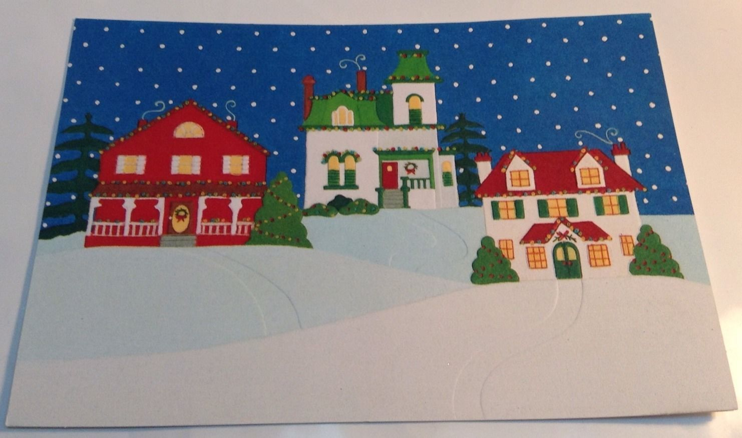 Vintage Hallmark Christmas Greetings Cards And Similar Items