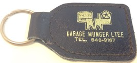 Vintage Car Dealership Promo Keychain GARAGE MU... - $6.96
