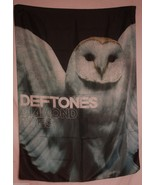 DEFTONES Diamond Eyes Owl Textile Fabric Cloth ... - $12.56