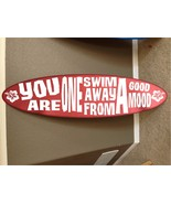 TWO 6' surfboards wood wall hanging surf board decor beach surfing  - $316.80