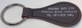 Vintage Promo Keychain SAGUENAY AUTO LTEE Porte... - $5.60