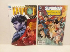 SUPERMAN: KRYPTON: SYFY SPECIAL INSERT COMIC + SUPERMAN/WW #1 - FREE SHI... - $14.03