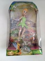 Disney Fairies Tinker Bell Porcelain Keepsake Doll 2007 Brass Key - dama... - $39.99