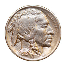 1913 S Buffalo Nickel Type 1 - Gem BU / MS / UNC - $167.45