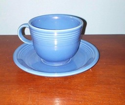 Homer Laughlin  Fiesta Lapis Cup & Saucer Set (8 Available) - $9.49