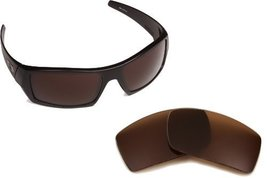 New SEEK OPTICS Replacement Lenses Oakley CRANKSHAFT - Brown - $14.34