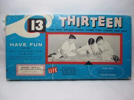 Vintage THIRTEEN 1955 Cadaco Ellis Educational ... - $16.74