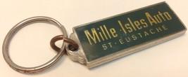 Vintage GM Car Dealer Promo Keychain MILLE ISLE... - $7.30