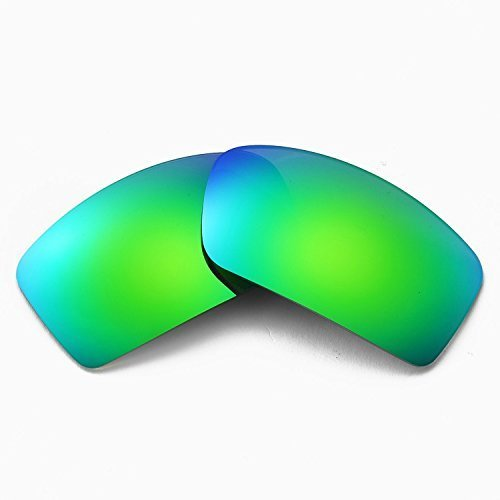 Primary image for New SEEK Replacement Lenses Oakley TURBINE - Polarized Green Mirror