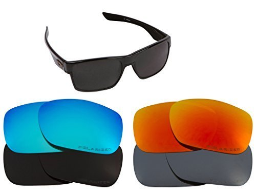 New SEEK Replacement Lenses Oakley TWOFACE - Polarized Gold Mirror