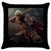 Monkey King Chinese Mythology Throw Pillow Case - $16.44