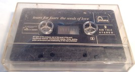 TEARS FOR FEARS Tape Cassette THE SEEDS OF LOVE 1989 Phonogram Records C... - $5.46