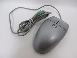 HP 5185-2413 Model P814 Silver & Gray PS/2 Roller Trackball Wired Comput... - $18.70