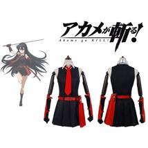 Akame ga KILL! Night Raid Akame Cosplay Costume Akame Costume - $75.00