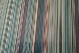 Sitata Baby Toddler Cushion HighChair Booster Seat Blue Purple & Stripes - $38.60
