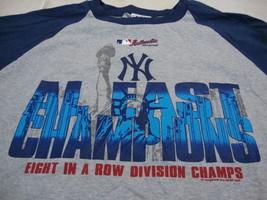 MLB New York Yankees Major League Baseball Fan 8 in a row Champions T Shirt 2XL - $19.64