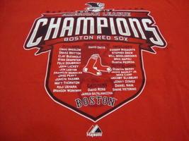 MLB Boston Red Sox Major League Baseball Fan 2013 Champions Majestic T Shirt L - $17.17