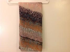 Multi Colored, Zebra stripe Mosaic Patterned Scarf, New! image 8
