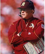 Joe Gibbs Washington Redskins SAS Vintage 8X10 Color Football Memorabilia Photo - $6.99