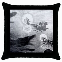 The Wolves Pursuing Sol And Mani Throw Pillow Case - $16.44