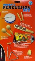 Voggy's Percussion Set For Kids 3 Years and Up/NIB - $21.97