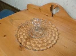 Vintage Fostoria Clear Glass Sandwich Platter C... - $19.79
