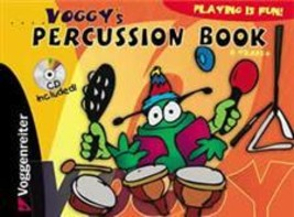 Voggy's Percussion Book/CD Set For Kids 4 Years and Up - $12.95