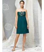 Lela Rose LR121.....Cocktail length, Strapless Dress......Oasis....Size 10 - $49.49