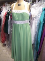 After Six..6554....Bridesmaid / Cocktail Dress....Apple Slice.....Sz 12 - $14.84
