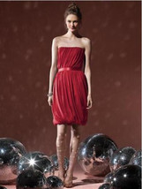 Dessy Social Bridesmaids  8108....Cocktail length, Strapless...Valentine... - €17,25 EUR