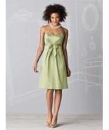After Six 6593.....Strapless, Satin, Knee-length Dress....Mint....Size 8 - $14.84